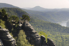 Saxony Switzerland Stock Photography
