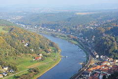 Saxony Switzerland in Germany Stock Photography