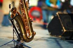 Saxophon Lizenzfreies Stockfoto