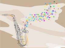 Saxophon Stockbild