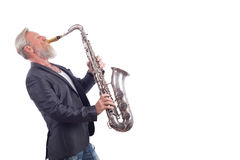 Saxophon player Stock Photography