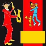 Saxophon-Spieler Lizenzfreies Stockbild