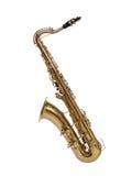 Saxophon von den dreißiger Jahren lizenzfreie stockfotografie