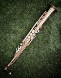 Saxophone σοπράνο Στοκ εικόνα με δικαίωμα ελεύθερης χρήσης