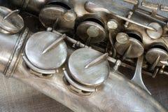 Saxophone Photo libre de droits