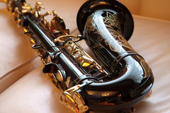 Saxophone Photo stock