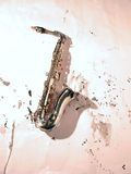 Saxophone. Played in Jazz concerts Royalty Free Stock Photography