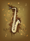 Saxophone Illustration Libre de Droits