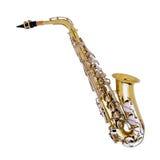 Saxophone-3 Lizenzfreies Stockfoto