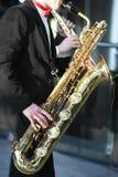 Saxophone Image libre de droits