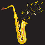 saxophone stock illustratie