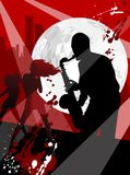 Saxophone. Vector Illustration on a musical theme, saxophone stock illustration