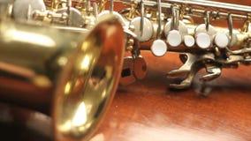 saxophone stock video footage