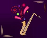 saxophone libre illustration
