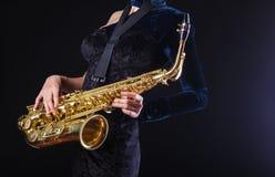 saxophone Immagini Stock