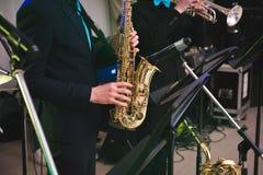 saxophone Immagine Stock
