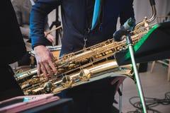 saxophone Fotografia Stock