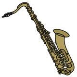 Saxophone classique illustration libre de droits