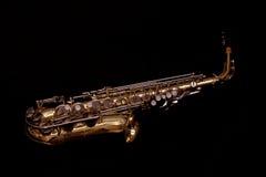 Saxophone d'alto Photographie stock libre de droits