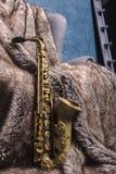 saxophone d'alto Images stock
