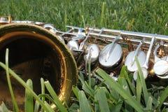 saxophone d'alto image stock