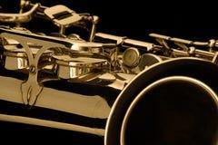 saxophone de groupe Images stock
