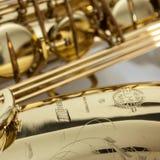 Saxophone de tenor de la série III de Selmer images libres de droits