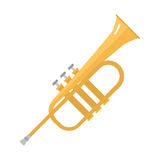 Saxophone icon music classical sound instrument vector illustration. Royalty Free Stock Image