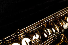 Free Saxophone In The Black Box Stock Photos - 65973133