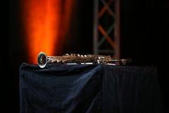Saxophone soprano Stock Image