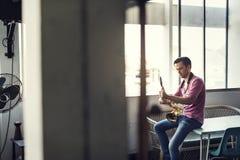Saxophone Symphony Musician Jazz Instrument Concept Royalty Free Stock Photo
