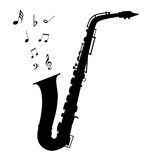 Saxophone. Vector saxophone - Illustration EPS-10 vector illustration