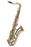 Saxophone on white background Stock Photography
