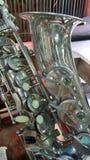 Saxophones Woodwind quartets Stock Image