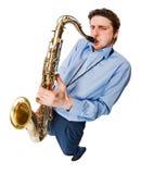 saxophonist στοκ φωτογραφίες με δικαίωμα ελεύθερης χρήσης