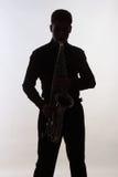 saxophonist Immagine Stock