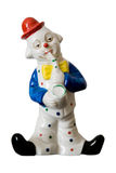 Saxophonist Clown Ornament Royalty Free Stock Image