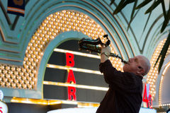 Saxophonist Stock Photography