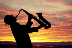 Saxophonist Stock Photos