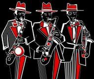 Saxophonists Stock Image