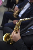 Saxophonists Royalty Free Stock Photography