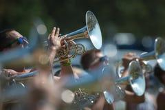 Saxophonpraxis Stockfoto