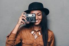 Say cheese! Royalty Free Stock Photo