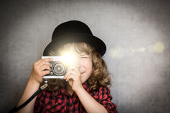 Say cheese! Royalty Free Stock Image