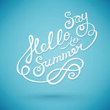 Say hello to summer Stock Images