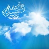 Say hello to summer Stock Photo
