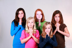 Say A Little Prayer for You Stock Photos
