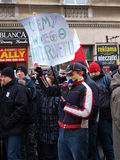 Say No To ACTA, Lublin, Poland Stock Photography