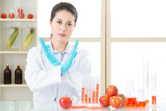 Say no to genetic modification gmo food Royalty Free Stock Photography