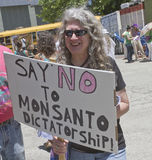 Say NO To Monsanto Dictatorship Stock Photography